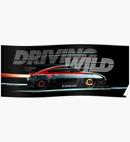 DRIVING WHEEL Poster