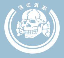 ACAB Waffen SS Death head Kids Tee