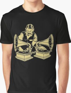 Old Timey School Graphic T-Shirt