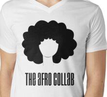 Afro Collab Mens V-Neck T-Shirt