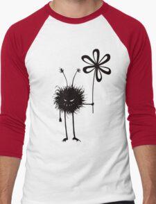Evil Flower Bug Vintage Men's Baseball ¾ T-Shirt