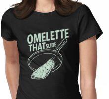 Omelette That Slide Womens Fitted T-Shirt