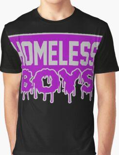 Homeless Boys Graphic T-Shirt
