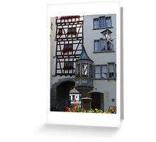 Stein am Rhein Switzerland  Greeting Card