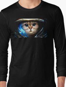 Cat-stronaut  Long Sleeve T-Shirt