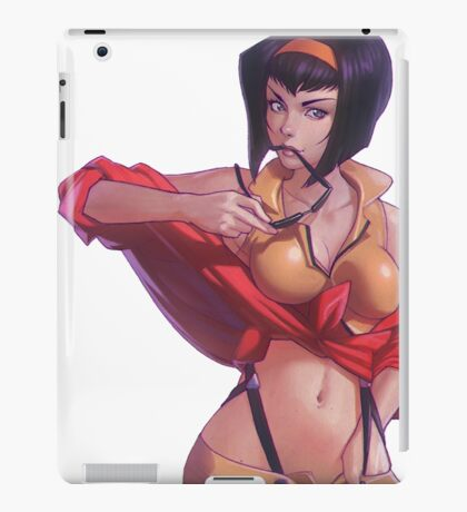 Faye Valentine  iPad Case/Skin