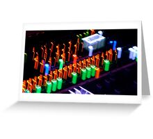 Music Console Greeting Card