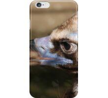 black vulture iPhone Case/Skin