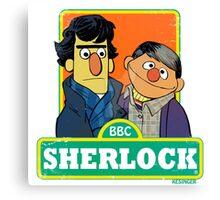 Sherlock Toon Canvas Print