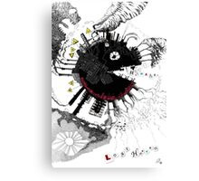 Pac man game Canvas Print