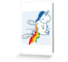 Unicornio - Arcoiris Greeting Card