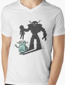 cute robot Mens V-Neck T-Shirt