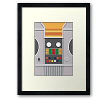 Screen Uniforms - Lost In Space - Robot Framed Print