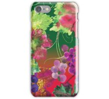 vines and grapes iPhone Case/Skin