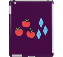 My little Pony - Rarity + Applejack Cutie Mark iPad Case/Skin