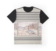 Private Boathouse at Harties Graphic T-Shirt