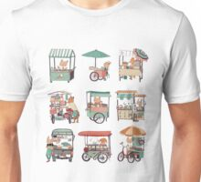 Food vans of Thailand Unisex T-Shirt
