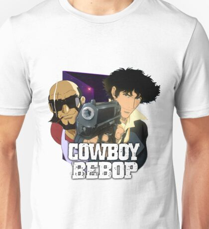 Spike Spiegel  and Jet Black  Unisex T-Shirt