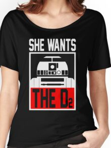 She Wants The D2 Women's Relaxed Fit T-Shirt