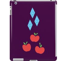 My little Pony - Rarity + Applejack Cutie Mark V2 iPad Case/Skin