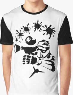 Shooter Mask Graphic T-Shirt