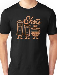Shots With Friends Unisex T-Shirt