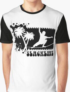 Slackline Trick Graphic T-Shirt