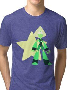Peridot (Dark Green) Tri-blend T-Shirt