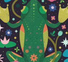 Botanical Frog  Sticker