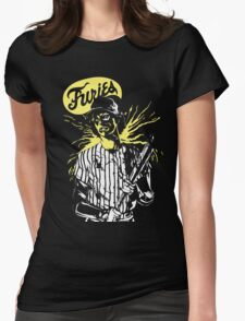 Furies baseball player! Womens Fitted T-Shirt