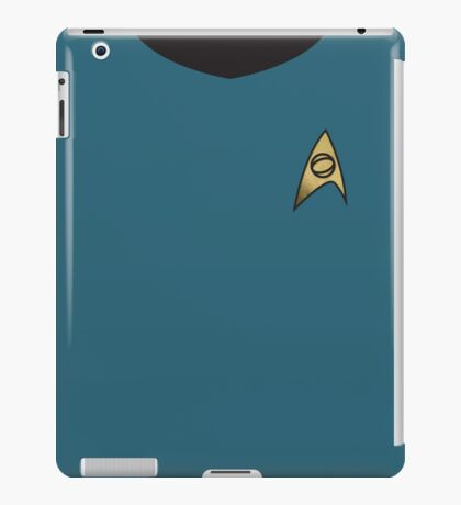 "Screen Uniforms - Star Trek - Lieutenant Commander Dr. Leonard ""Bones"" McCoy iPad Case/Skin"
