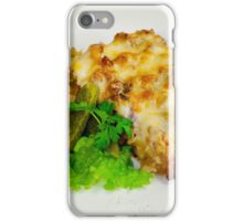 meat casserole with tomatoes and cucumbers iPhone Case/Skin