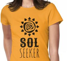 Sol Seeker Womens Fitted T-Shirt
