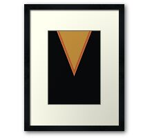 Screen Uniforms - Lost In Space - Dr Zachary Smith - Style 1 Framed Print