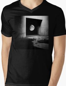 To the Moon Mens V-Neck T-Shirt