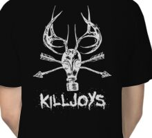 Killjoys.co Attack White Logo Classic T-Shirt