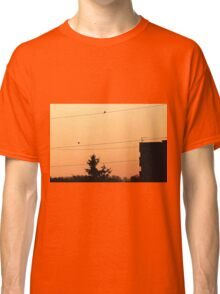 Birds on the wire Classic T-Shirt