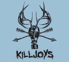 Killjoys.co Attack Black Logo One Piece - Short Sleeve