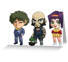 SPike, Jet and Faye Valentine Greeting Card