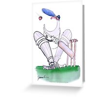 England Cricket big mouth - tony fernandes Greeting Card