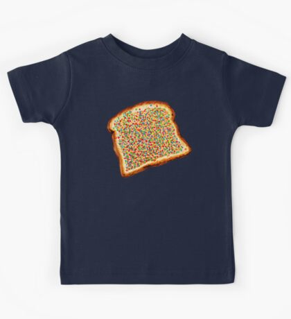 Fairy Bread Pattern Kids Tee