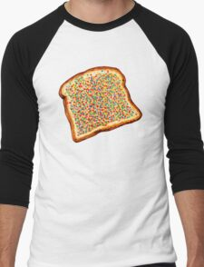 Fairy Bread Pattern Men's Baseball ¾ T-Shirt