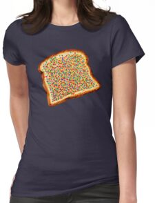 Fairy Bread Pattern Womens Fitted T-Shirt