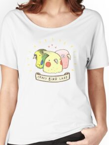Crazy Bird Lady Women's Relaxed Fit T-Shirt