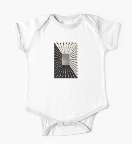 Tunnel in Black and White - phone case One Piece - Short Sleeve