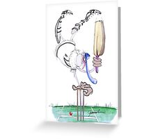 England Cricket celebrations - tony fernandes Greeting Card