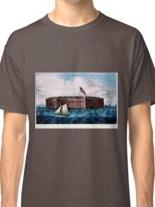 Fort Sumter - Charleston Harbor, S.C. - 1870 Classic T-Shirt
