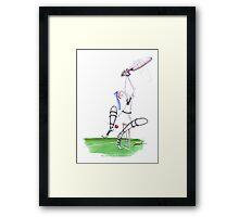 England Cricket nutmeg - tony fernandes Framed Print