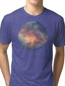 Fiery cloud Tri-blend T-Shirt