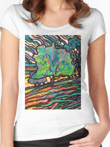 The Wind and The Willow Women's Fitted Scoop T-Shirt